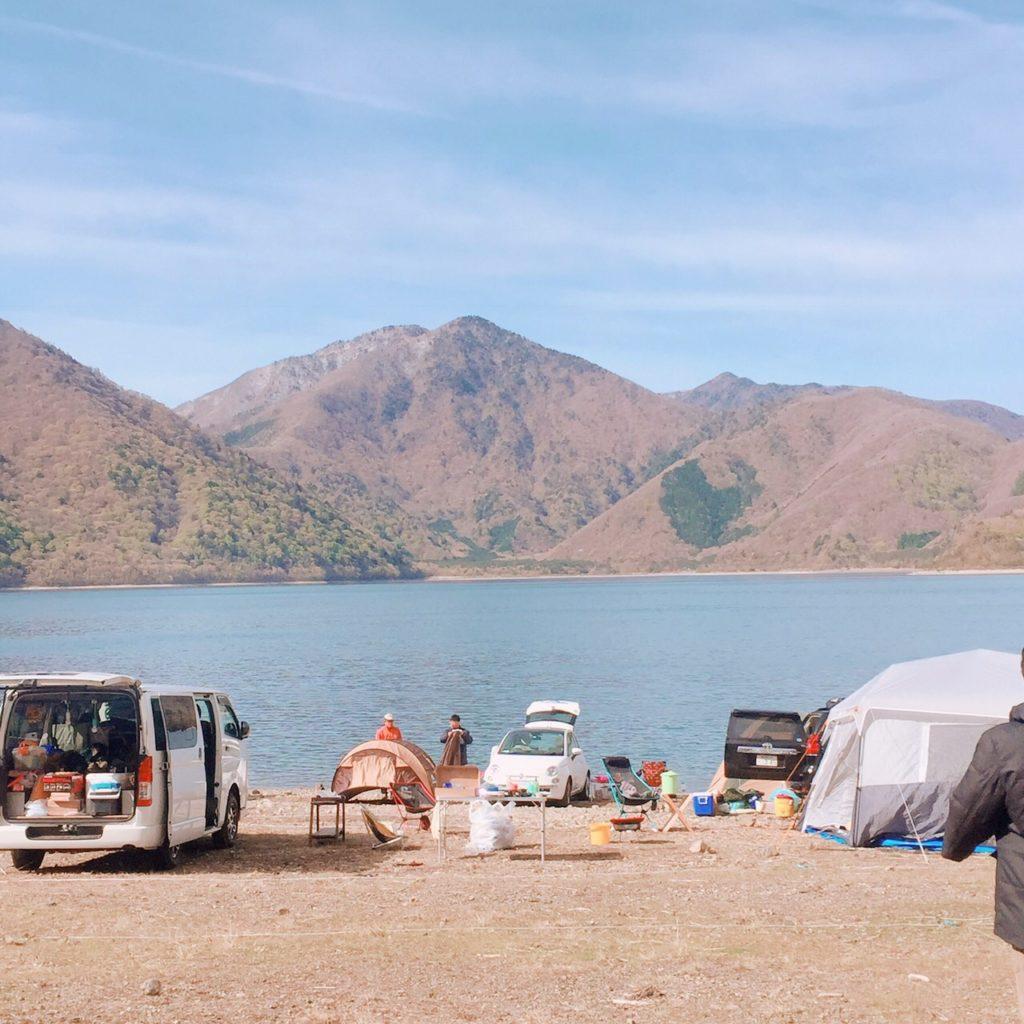 【キャンプ場レポート】自然とふれあう!本栖レークサイドキャンプ場