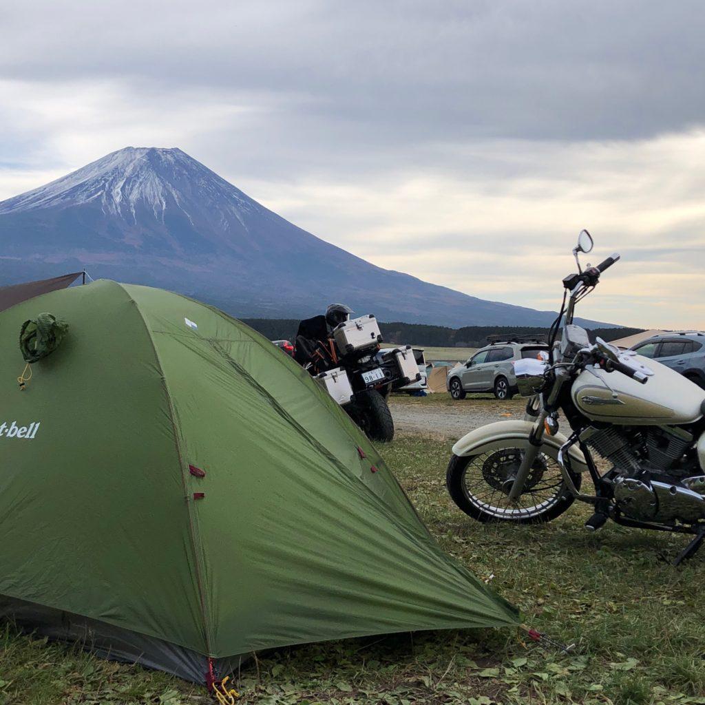 【キャンプ場レポート】富士山目の前!草原が開放的なふもとっぱらキャンプ場