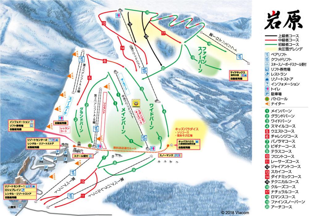 【ゲレンデレポート】緩斜面がたくさんのファミリーゲレンデ!岩原スキー場